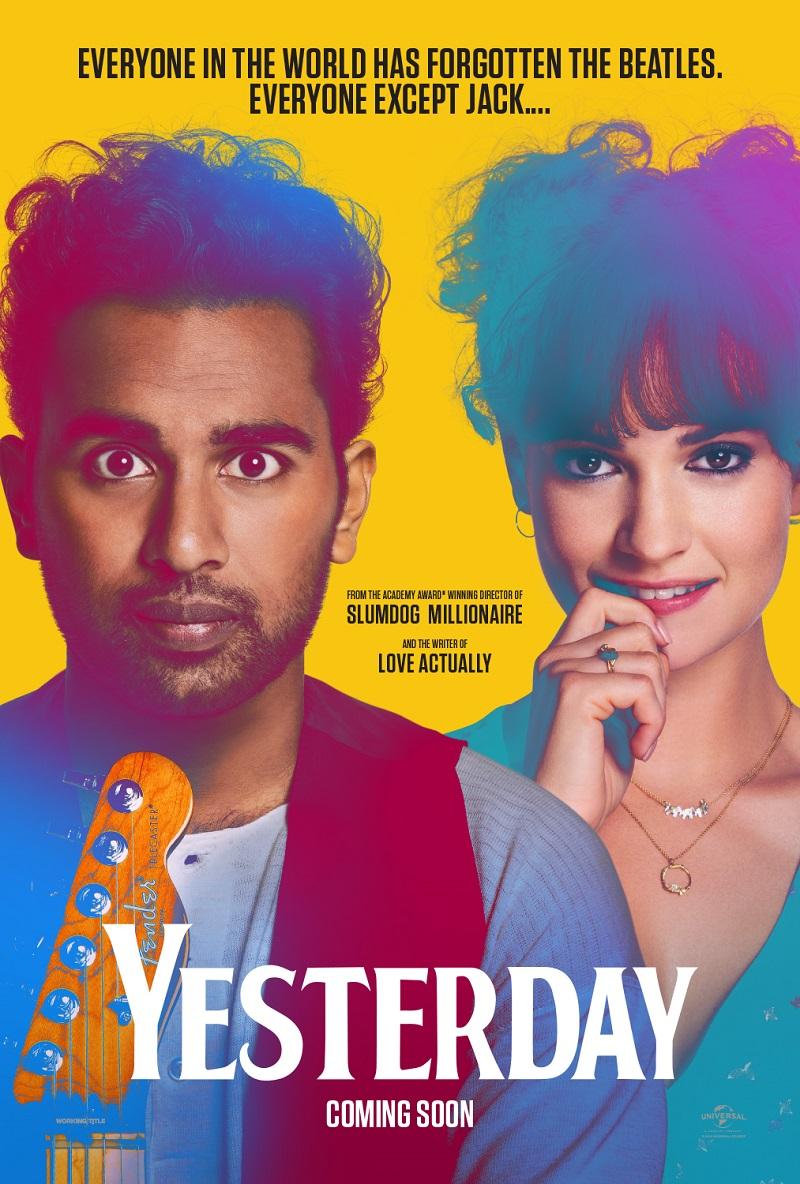 """Poster phim """"Ngày hôm qua"""" (Tựa gốc: Yesterday)"""