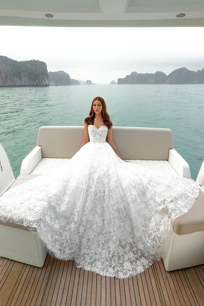 chung thanh phong, bridal, áo cưới, vịnh hạ long