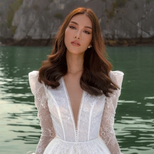 Rung động trước những thiết kế váy cưới đẹp mơ màng của NTK Chung Thanh Phong