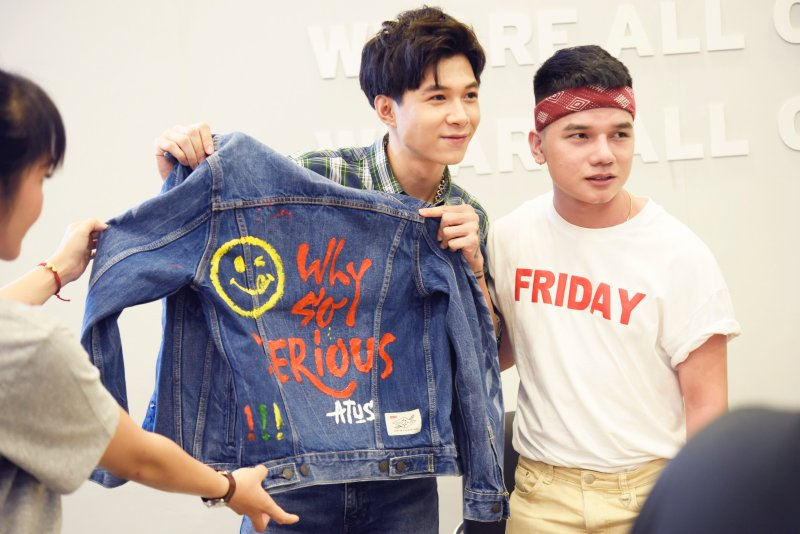 levi's, 501 day, make it personal, quần jeans