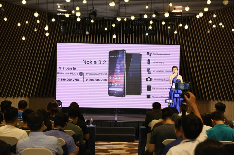 nokia 3.2, hmd global, điện thoại, smartphone, android pie