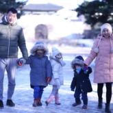 Gia đình Ốc Thanh Vân – Trí Rùa cùng Trang Lou – Tùng Sơn đưa con khám phá Hàn Quốc
