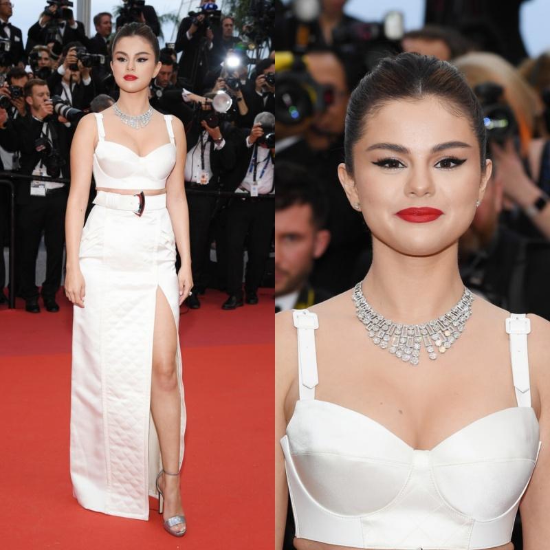 Selena Gomez tỏa sắc với khí chất ngút trời trên thảm đỏ khai mạc LHP Cannes lần thứ 72